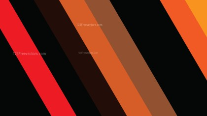 Orange and Black Diagonal Stripes Background