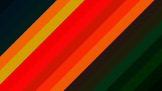 Orange and Black Diagonal Stripes Background Vector