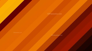 Orange and Black Diagonal Stripes Background Vector Art