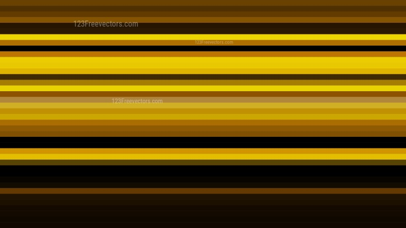Orange and Black Horizontal Stripes Background