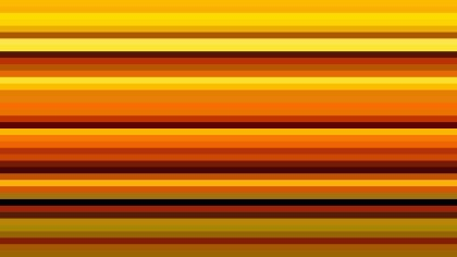 Orange and Black Horizontal Stripes Background Illustration