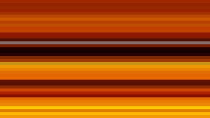 Orange and Black Horizontal Stripes Background Design