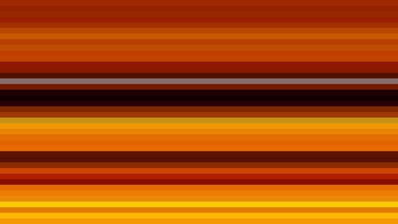 Orange and Black Horizontal Stripes Background Design