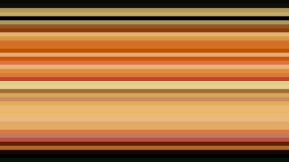 Orange and Black Horizontal Stripes Background