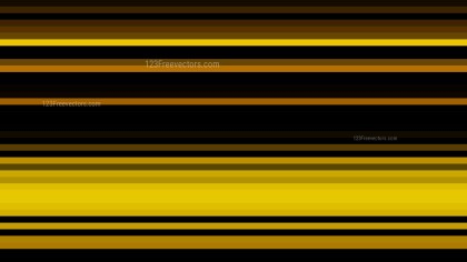 Orange and Black Horizontal Stripes Background Vector Graphic