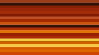 Orange and Black Horizontal Striped Background Vector Image