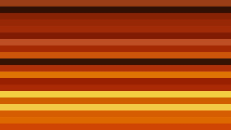 Orange and Black Horizontal Striped Background Vector Image