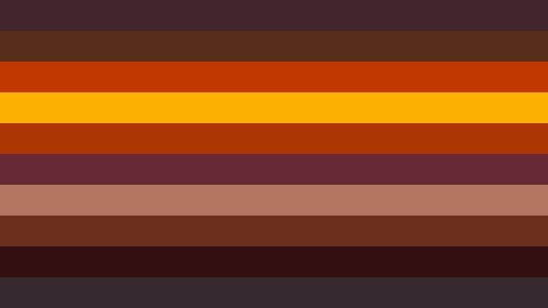 Orange and Black Stripes Background Vector