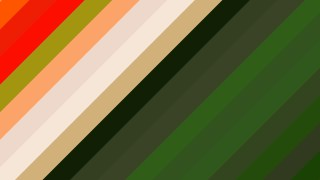 Orange and Green Diagonal Stripes Background