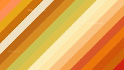 Orange and Green Diagonal Stripes Background Vector Art