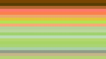 Orange and Green Horizontal Striped Background Illustrator