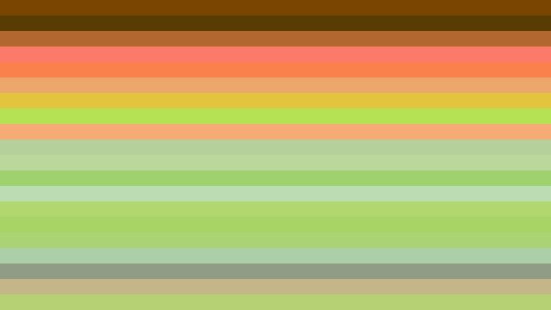 Orange and Green Horizontal Striped Background Illustrator