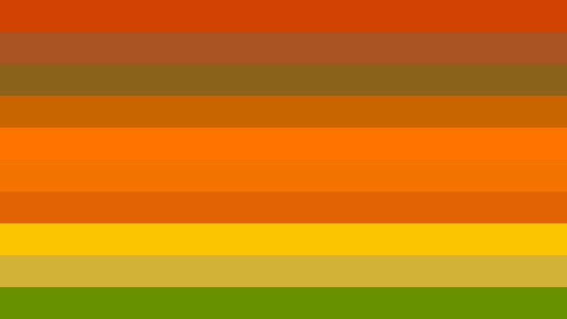 Orange and Green Stripes Background