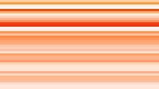 Orange and White Horizontal Stripes Background Vector Graphic