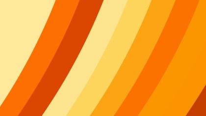 Orange and Yellow Diagonal Stripes Background