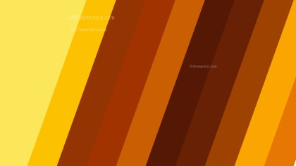 Orange and Yellow Diagonal Stripes Background Vector Art