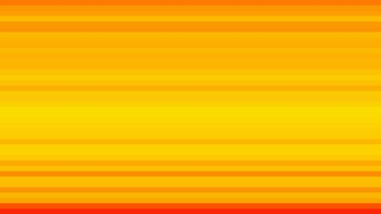 Orange and Yellow Horizontal Stripes Background Vector Image