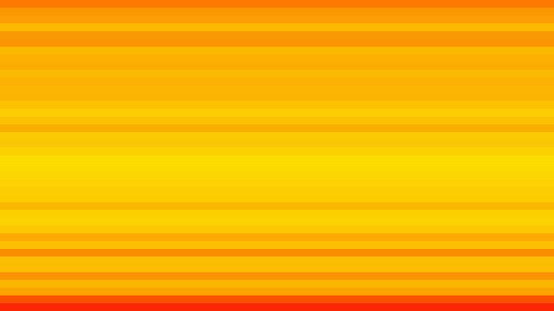 Orange and Yellow Horizontal Stripes Background Vector Image