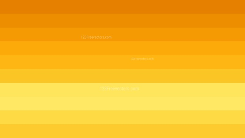 Orange and Yellow Stripes Background Vector Illustration