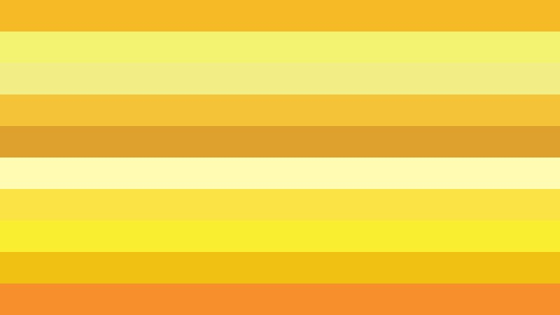 Orange and Yellow Stripes Background Vector