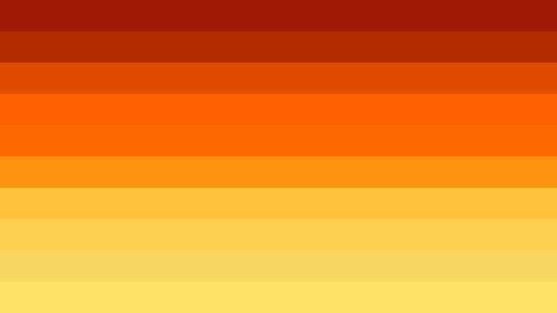 Orange and Yellow Stripes Background