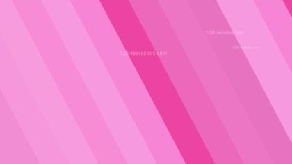 Pink Diagonal Stripes Background Illustration