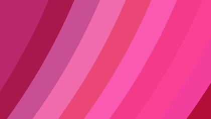 Pink Diagonal Stripes Background Design