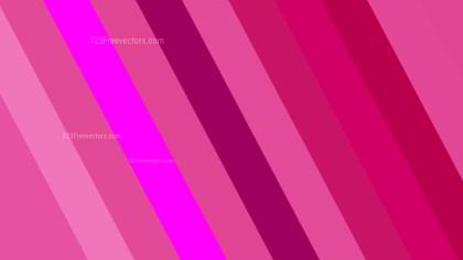 Pink Diagonal Stripes Background