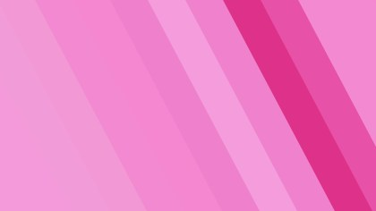 Pink Diagonal Stripes Background Vector Image