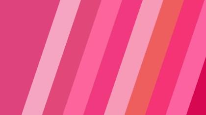 Pink Diagonal Stripes Background Vector