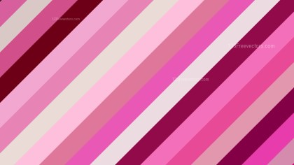Pink Diagonal Stripes Background Graphic