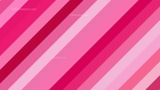 Pink Diagonal Stripes Background Illustration