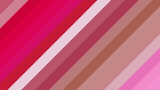 Pink Diagonal Stripes Background