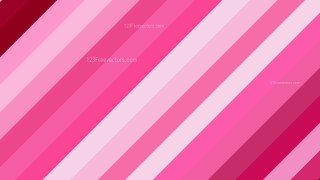 Pink Diagonal Stripes Background Image
