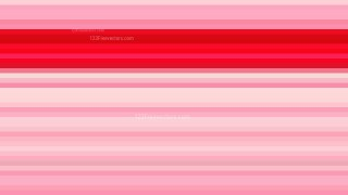 Pink Horizontal Stripes Background Vector Illustration