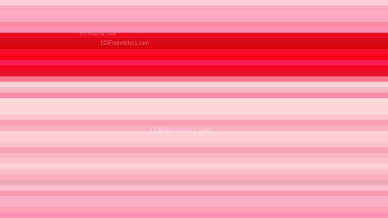 Pink Horizontal Stripes Background Vector Illustration