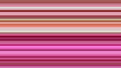Pink Horizontal Stripes Background