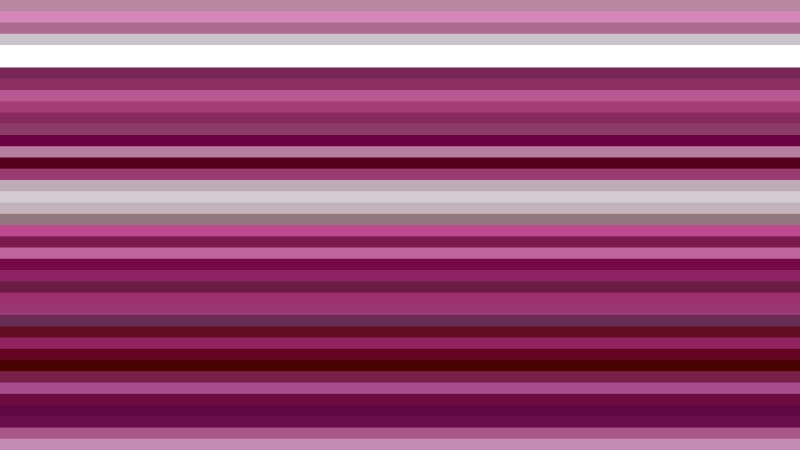 Pink Horizontal Stripes Background Vector Art