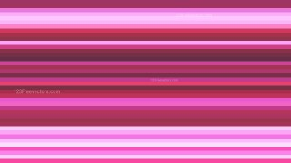 Pink Horizontal Stripes Background Design