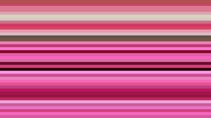 Pink Horizontal Stripes Background Image