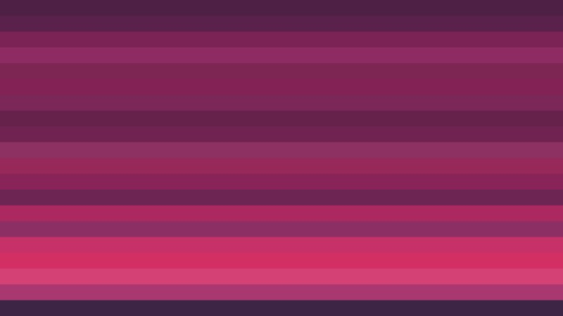 Pink Horizontal Striped Background