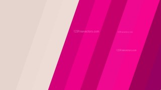 Pink and Beige Diagonal Stripes Background Vector