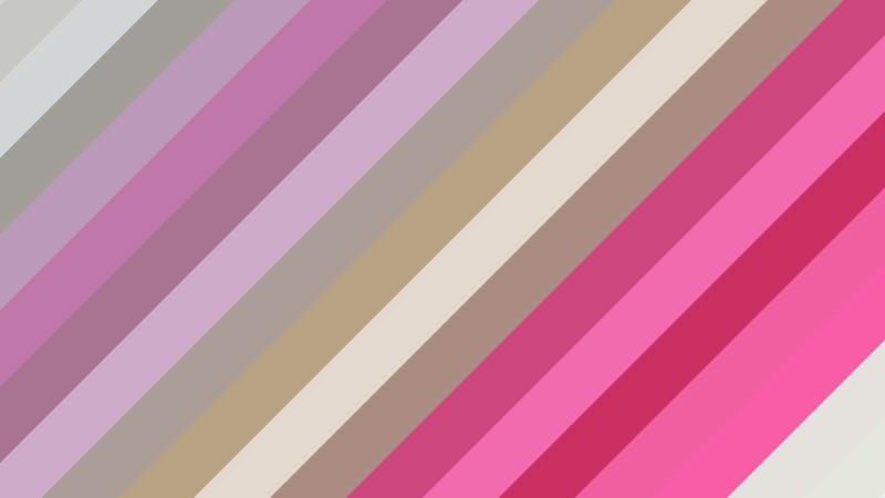 Pink and Beige Diagonal Stripes Background