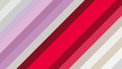 Pink and Beige Diagonal Stripes Background Illustration