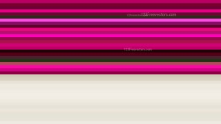 Pink and Beige Horizontal Stripes Background Image