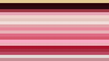Pink and Beige Horizontal Striped Background Vector Illustration