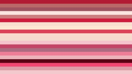 Pink and Beige Horizontal Striped Background
