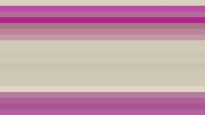 Pink and Beige Horizontal Striped Background Graphic