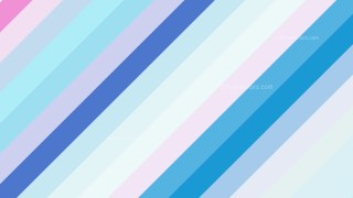 Pink and Blue Diagonal Stripes Background Design