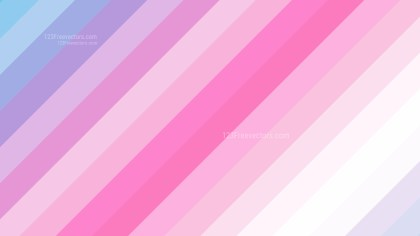 Pink and Blue Diagonal Stripes Background